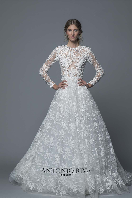 sale retailer f6323 df003 Antonio Riva - Abiti da sposa 2019 | Vestiti da sposa ...